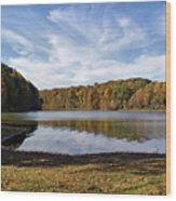 Afternoon At The Lake Wood Print