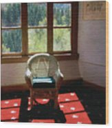 Afternoon In The Solarium Wood Print