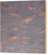 Afternoon Sky 11 Wood Print