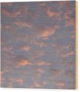 Afternoon Sky 11 Wood Print