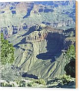 Afternoon View Grand Canyon Wood Print