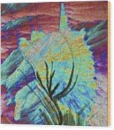 Agat 19 Wood Print