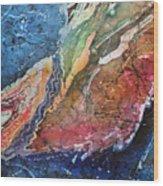 Agate Inspiration - 21a Wood Print