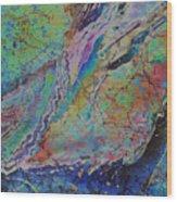 Agate Inspiration - 21b Wood Print