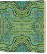 Agate Inspiration - 24 B  Wood Print
