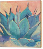 Agave 2 Wood Print