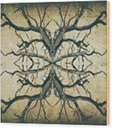 Aged Sepia Tree Dual Wood Print