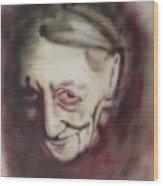 Aged Smile Wood Print