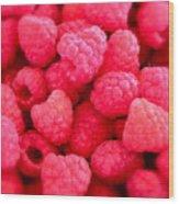 Agenda For Today ... Raspberry Jam Wood Print by Gwyn Newcombe