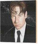 Agent Mulder Wood Print
