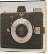 Agfa Clack Camera Wood Print