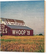 Aggie Barn 2015 Wood Print