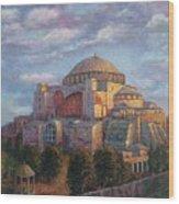 Agia Sofia Wood Print