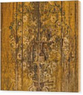 Aging Decorative Door Wood Print