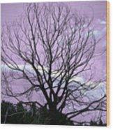 Aglow Wood Print