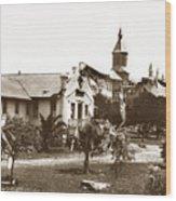 Agnews State Hospital San Jose Calif. 1906 Wood Print