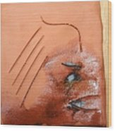 Agonise - Tile Wood Print