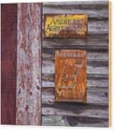 Memberships Wood Print