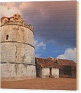Aguada Fort Goa Wood Print