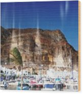 Aguadulce Port Wood Print