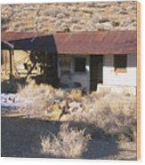 Aguereberry Camp - Death Valley Wood Print