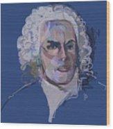 Ah, Bach Wood Print