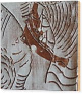 Ahead - Tile Wood Print