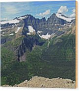 Ahern Goat Trail Wood Print