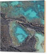 Ahihi Kinau Natural Preserve Wood Print