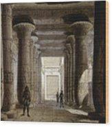 Aida Set, 1871 Wood Print