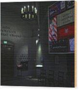 Aids Interfaith Memorial Chapel - San Francisco Wood Print