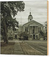 Aiken County Courthouse Wood Print