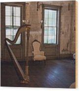 Aiken Rhett House Living Room Wood Print