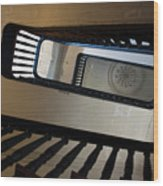 Aiken Rhett Stairs Wood Print