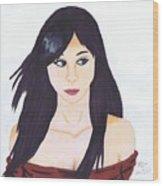 Aiko Wood Print