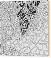 Aikya Wood Print