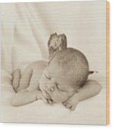 Aimee As A Fairy Wood Print