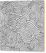Aimless Wood Print