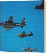 Air America Wood Print