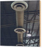 Air Conditioner Wood Print
