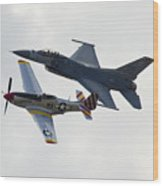 Air Force Heritage Flight Wood Print