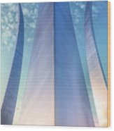 Air Force Memorial Wood Print by JC Findley
