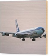Air Force One Boeing Vc-137c 72-7000 Wood Print