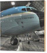 Air Force One - Boeing Vc-137c Sam 26000 Wood Print