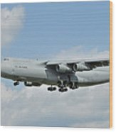 Air Force Plane Wood Print