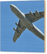 Air Force Plane Wood Print
