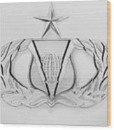 Air Force Specialty Badge Wood Print