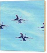 Air Force Thunderbirds Wood Print