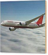 Air India Boeing 787 Dreamliner N1008s  Wood Print
