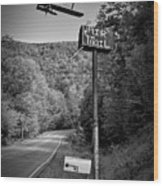 Air Mail Delivery Maine Style Wood Print